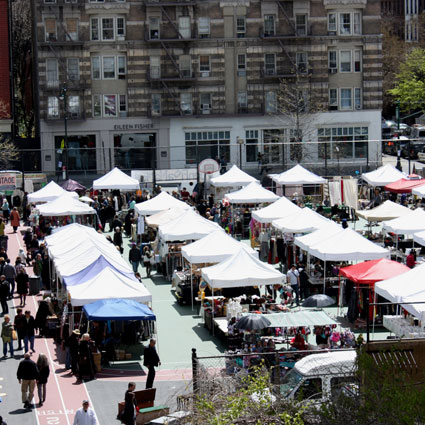 GreenFlea Market, one of the best flea markets in Manhattan!